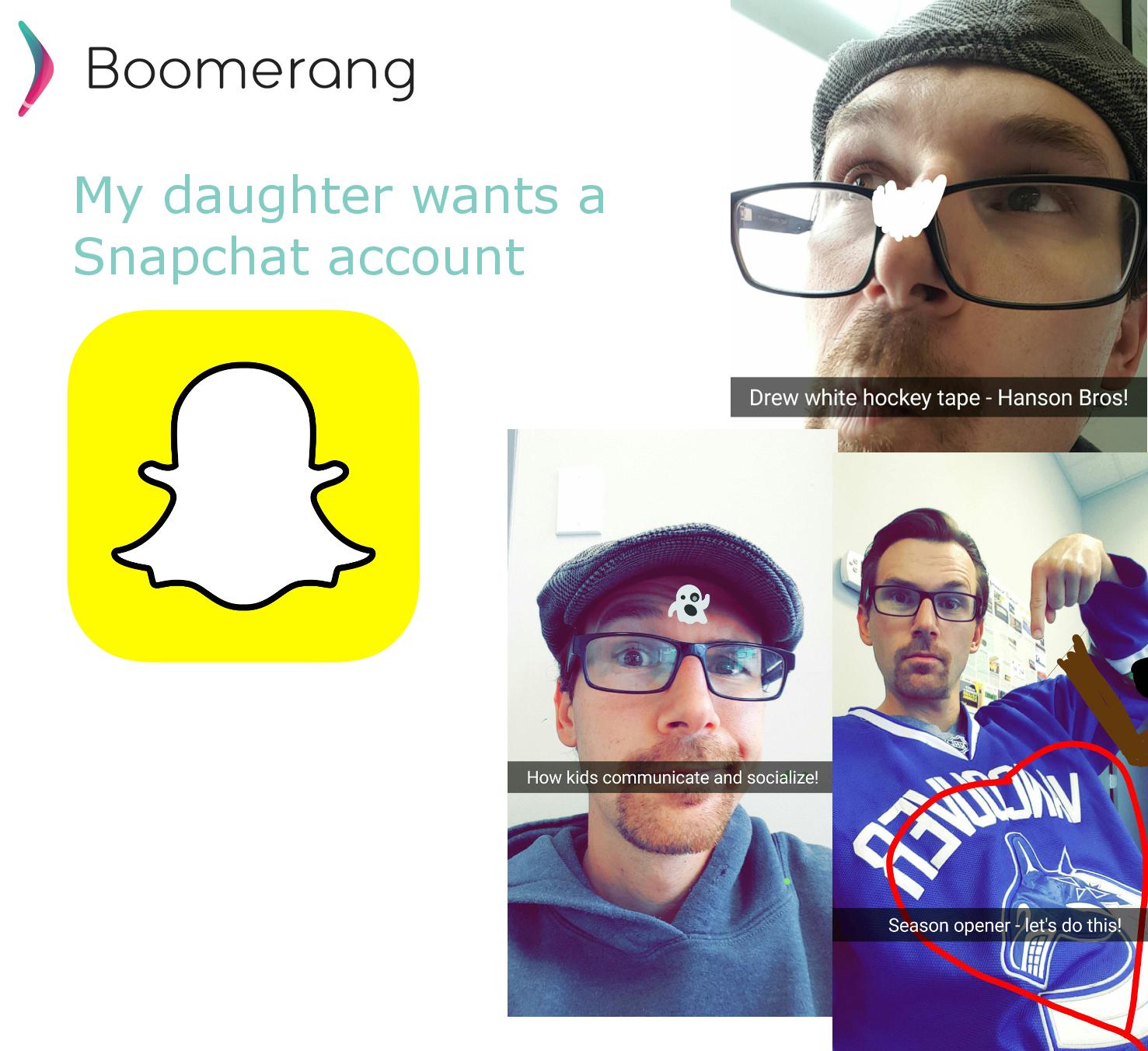 Kids on SnapChat