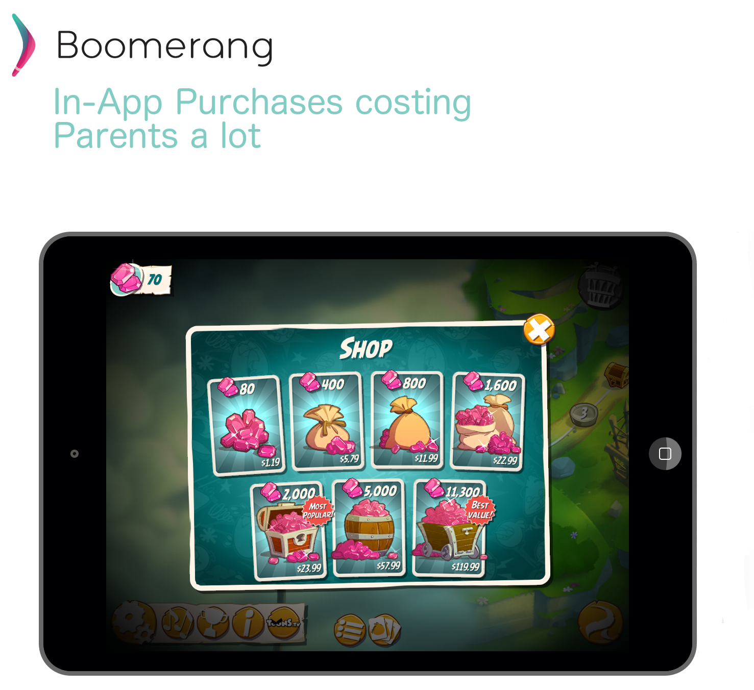 Angry Birds 2 In-App Purchases