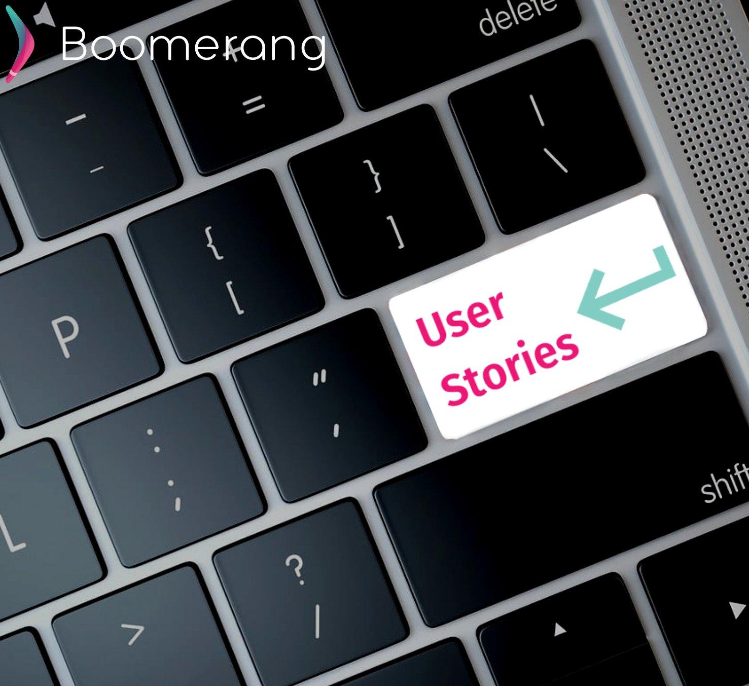 User Stories Banner
