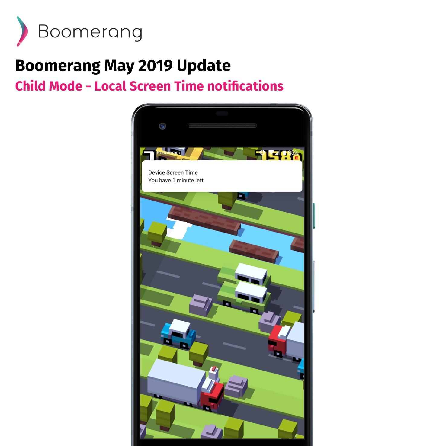 Boomerang May 2019 update