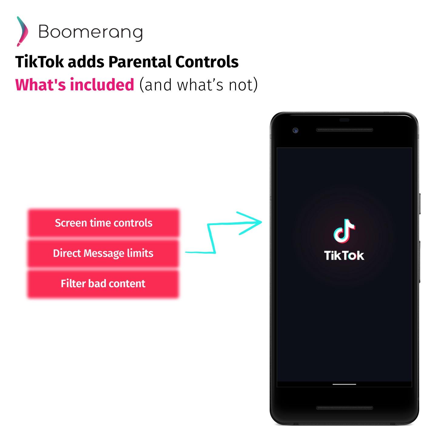 TikTok adds parental controls