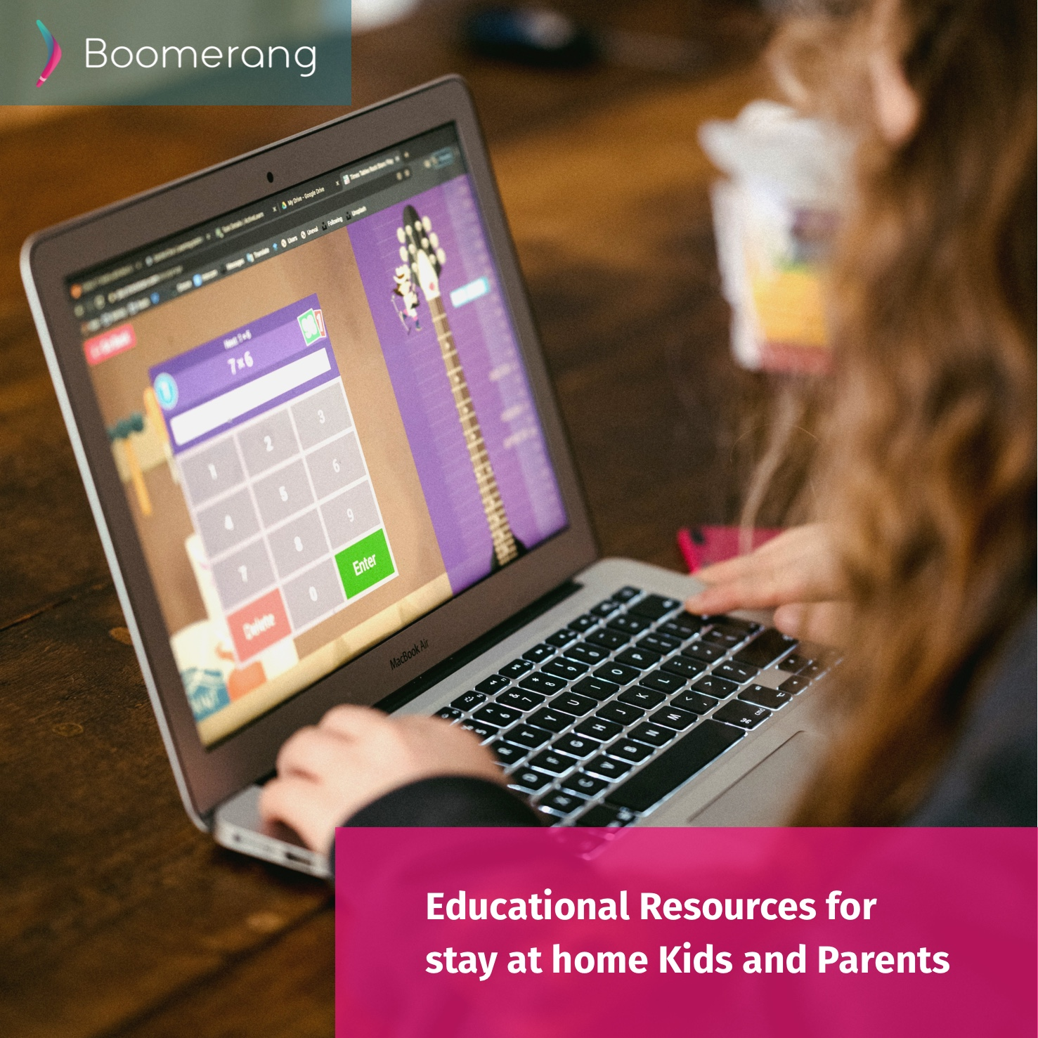 Educational Resources for stay at home Kids and Parents