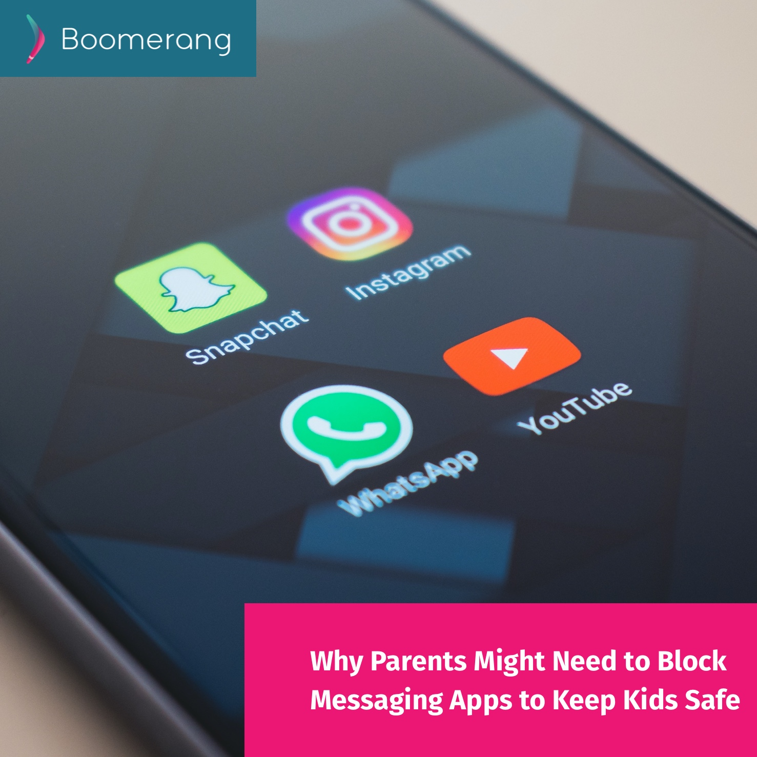 Why Parents Might Need to Block Messaging Apps to Keep Kids Safe