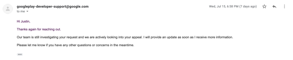 07152020 - Canned response from Appeals Team