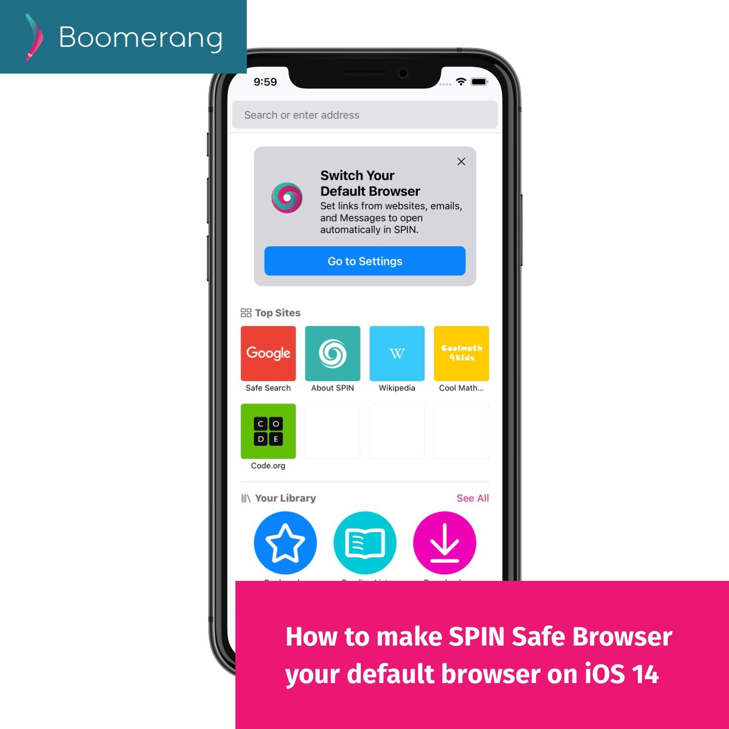 iOS 14 default browser